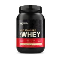 100% Whey Protein Gold Standard Baunilha Optimum Nutrition 907g