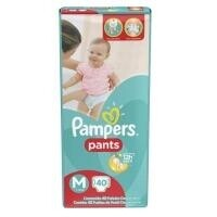 Fraldas Pampers Pants M - 20un