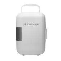 Mini Geladeira Multilaser 12V 4 Litros Branco - TV009