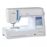 Máquina de Costura Janome Skyline S5 Eletrônica 170 Pontos Bivolt