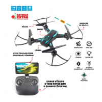 Drone Polibrinq Quadricóptero Techspy Com Câmera DN10000