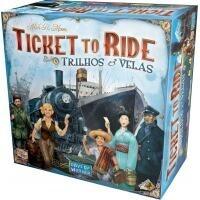Jogo de Tabuleiro Ticket to Ride: Trilhos e Velas - Galápagos Jogos