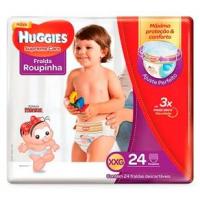 Fraldas Huggies Roupinha Supreme Care XXG - 24un