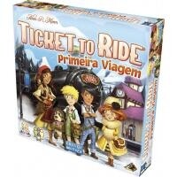 Jogo de Tabuleiro Ticket to Ride: Primeira Viagem - Galápagos Jogos