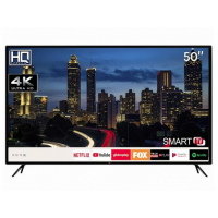 "Smart TV 50"" HQ 4K Ultra HD LED Wi-Fi HQSTV50NY"