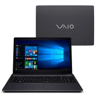"""Notebook VAIO Fit 15S i7-7500U 8GB HD 1TB Tela 15.6"""" FHD W10 - VJF155F11X-B7511B"""