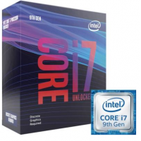 Processador Intel Core i7-9700KF Coffee Lake Refresh Cache 12MB 3.6GHz LGA 1151 - BX80684I79700KF