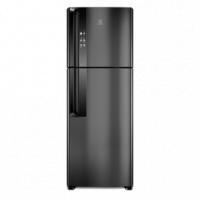 Geladeira Electrolux Top Freezer Frost Free Efficient Black IF56B