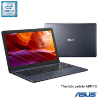 "Notebook Asus VivoBook i3-7020U 4GB SSD 256GB Intel Graphics 620 Tela 15,6"" - X543UA-DM3459T"