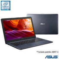 Notebook Asus VivoBook i3-7020U 4GB SSD 256GB Intel Graphics 620 Tela 15,6