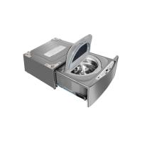 Máquina de Lavar Roupas LG TWINWash Mini 2,5kg Aço Escovado - WD100CV