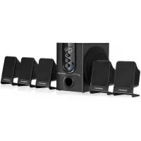 Home Theater Mondial 5.1 Canais 75W - HT-12