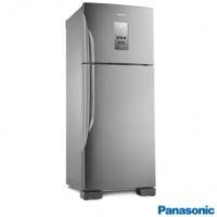 Geladeira Panasonic Frost Free com 435 Litros Inverter Aço Escovado - NR-BT51PV3X