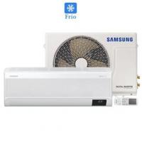 Ar Condicionado Split Hw Samsung Wind Free Frio 9000 Btu Inverter 220v AR09AVHABWKXAZ