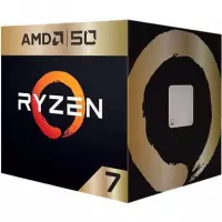 Processador AMD Ryzen 7 2700X AMD50 Gold Edition Cache 16MB 3.7GHz AM4 - YD270XBGAFA50