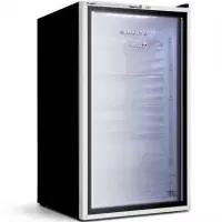 Frigobar Brastemp 120 litros com Porta de Vidro - BZA12AF