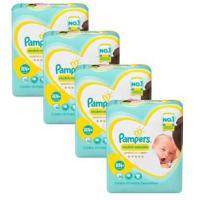 Fraldas Pampers Premium Care Recém Nascido Plus - 80un