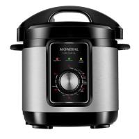 Panela Elétrica de Pressão Mondial Pratic Cook 3L Inox - PE-47