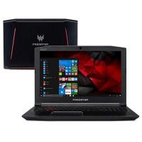 Notebook Acer Predator Helios 300 G3-572-75L9 i7-7700HQ 16GB 2TB GTX 1060 Tela FHD 15.6\