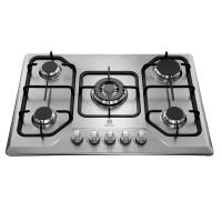 Cooktop Electrolux 5 bocas Inox - GT75X
