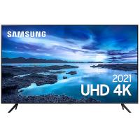 "Smart TV Samsung LED 65"" 4K 3 HDMI 1 USB - UN65AU7700GXZD"