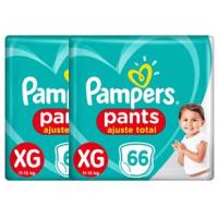 Fraldas Pampers Pants Ajuste Total XG – 132un