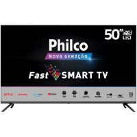 "Smart TV 55"" Philco 4K HDR PTV55G70SBLSG"