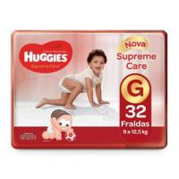 Fraldas Huggies Turma da Mônica Supreme Care G - 32un