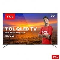 "Smart TV QLED 55"" 4K TCL Android TV - QL55C715"