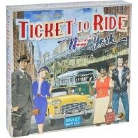 Jogo de Tabuleiro Ticket To Ride: New York - Galápagos Jogos