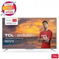 "Smart TV TCL LED Ultra HD 4K 50"" Android TV - 50P715"