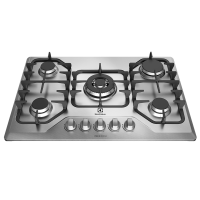 Cooktop Eletrolux 5 Bocas Inox - GF75X