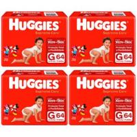 Fraldas Huggies Supreme Care G - 256un