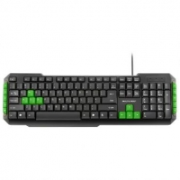 Teclado Gamer Multilaser Multimídia - TC201
