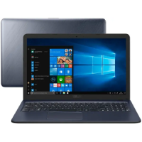 "Notebook Asus VivoBook i3-6100U 4GB SSD 256GB Intel HD Graphics 620 Tela 15,6"" - X543UA-GQ3430T"