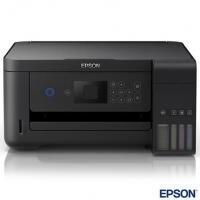 Impressora Multifuncional Epson EcoTank Jato de Tinta USB - L4160