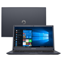 Notebook Positivo Motion Q464B Intel Atom 4GB RAM 64GB SSD Tela 14""