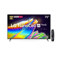 "Smart TV LG Nano Cristal 75"" ThinQ AI 8K HDR - 75NANO95SNA"