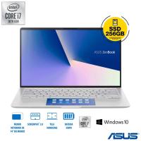 Notebook Asus ZenBook 14 i7-10510U 8GB 256GB SSD ScreenPad 2 - UX434FAC-A6339T
