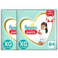 Fraldas Pampers Pants Premium Care XG - 128un