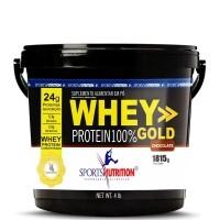 Whey Protein 100% Gold Baunilha Sports Nutrition 1.81g