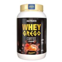 Whey Grego Coffe Cream Caramel Nutrata 900g