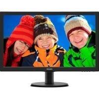 "Monitor Philips LED 23.6"" Full HD - 243V5QHABA"