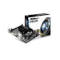 Placa Mãe AsRock D1800M-ATX Intel 2core Celeron Ddr3