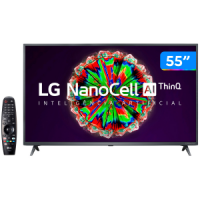 "Smart TV 4K UHD NanoCell IPS 55"" LG 55NANO79SND"