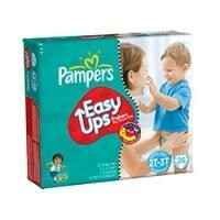 Fraldas Pampers Easy Ups Meninos 4 7 a 15kg - 26un