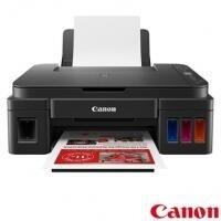 Impressora Multifuncional Canon Tanque de Tinta USB e Wi-Fi - G3111