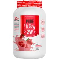 Whey Pure 2W Morango Puretech 900g