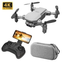 Drone Cross Border Ls Mini Wifi Fpv Câmera Hd 4kmp