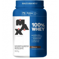 100% Whey Protein Concentrate Chocolate Max Titanium 900g